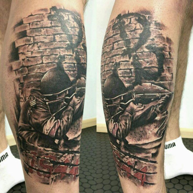 uprising Warsaw  tattoo