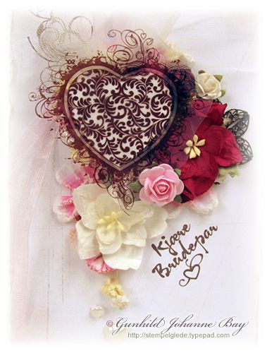 Handmade card. 2009 © Gunhild Bay