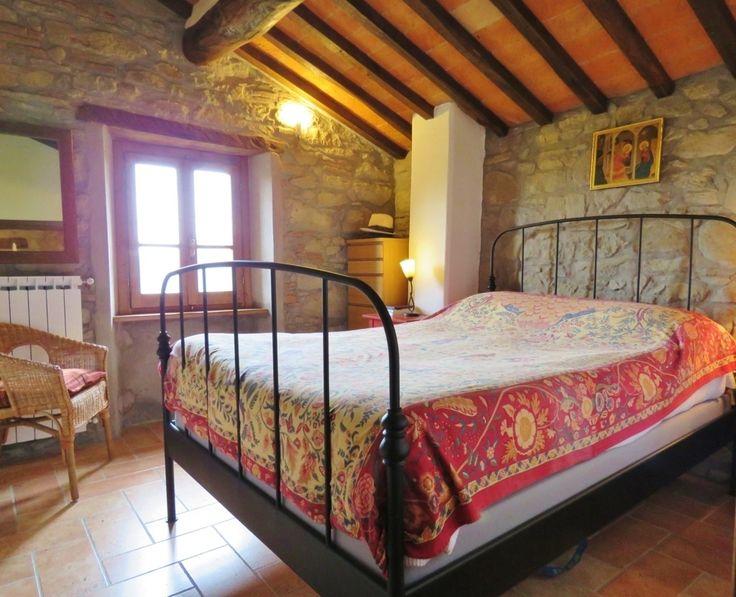 CORTONA SMALL JEWEL - Stone mountain farmhouse for sale close to Cortona, Arezzo, Tuscany, Umbria - SHOP Online www.cortonarealestate.it