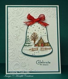 Scenic Christmas Bell Card 2