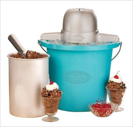 How to make homemade chocolate ice cream with an ice cream maker. Recipe uses cocoa powder, half & half, heavy cream, eggs & sugar. Click for the recipe!