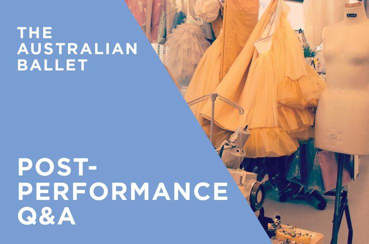 The Australian Ballet - Q & A