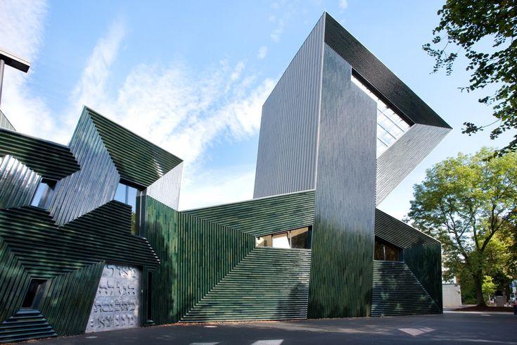 Neue Synagoge in Mainz - Fliesen und Platten - Kultur/Bildung - baunetzwissen.de