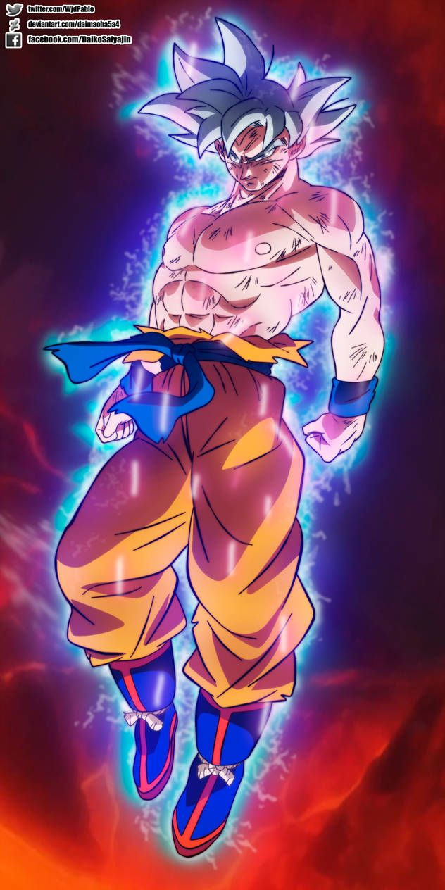 Goku Mastered Ultra Instinct In Broly Movie By Daimaoha5a4 Anime Dragon Ball Super Dragon Ball Super Goku Anime Dragon Ball