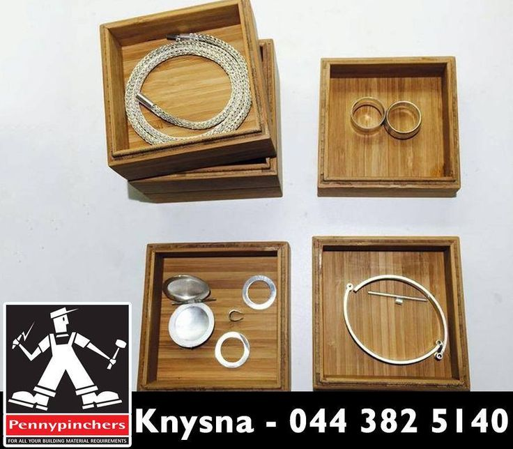 These Mini Stacking Wood Boxes are perfect for storing jewellery or other small valuables. For the instructions, click here: http://asite.link/cbR. Source: instructables.com. #Lifehack #PennypinchersKnysna