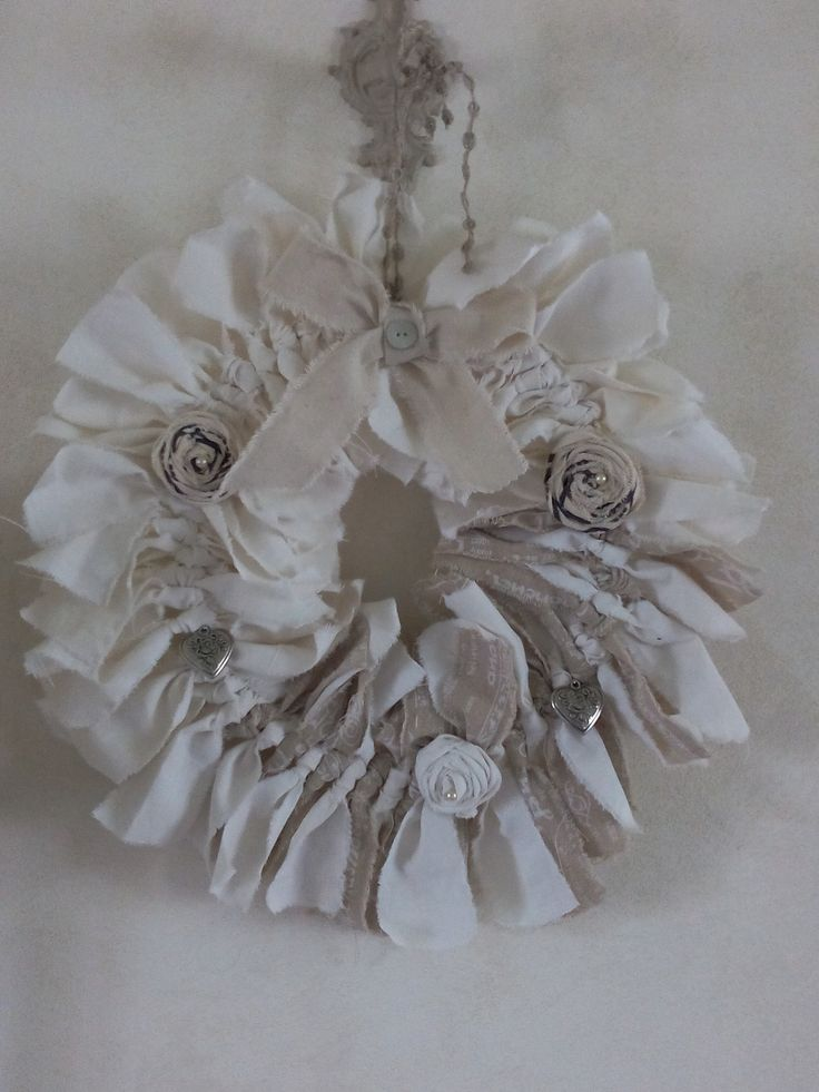 Couronne style shabby chic coeur shabby chic chic et for Couronne shabby chic