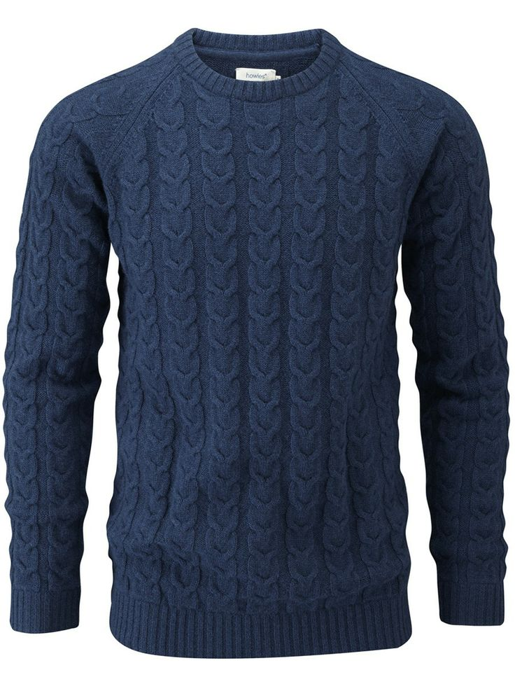 howies - Ember Cable Knit Jumper - knitwear - Mens Clothing - mens