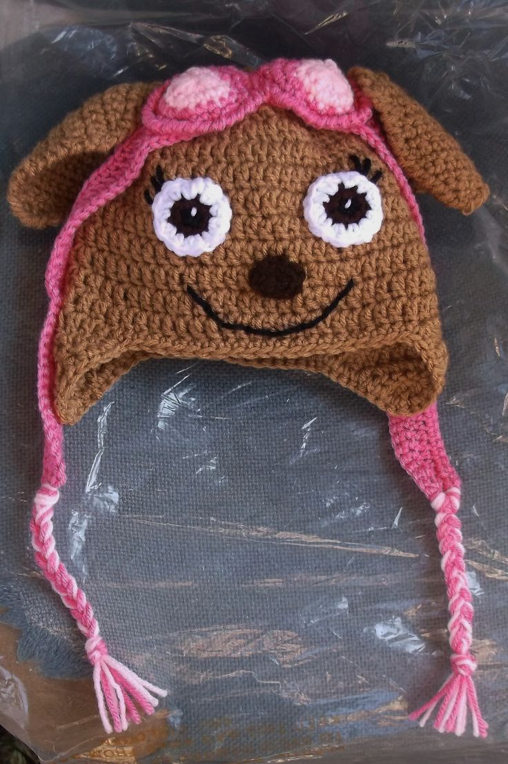 Crochet Paw Patrol Hat ~ No pattern