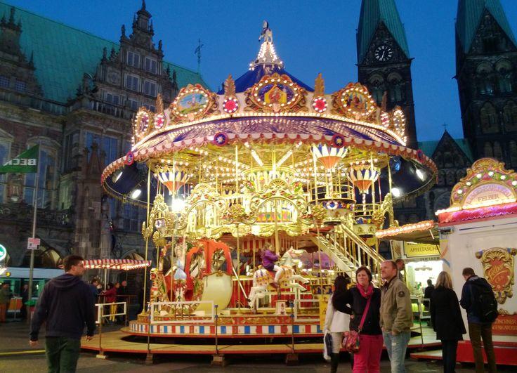 Merry-go-round at Ischaa Freimaak, Bremen
