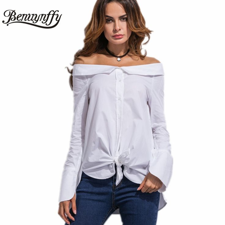 Benuynffy Fashion Spring White Cotton Spring Blouse Buy now for $ 25.96 & get FREE Shipping worldwide    #f4f #tbt #followme #like4like #shopping #fashion #style #shoppingaddict #followme #musthave #ootd #fashionmodel