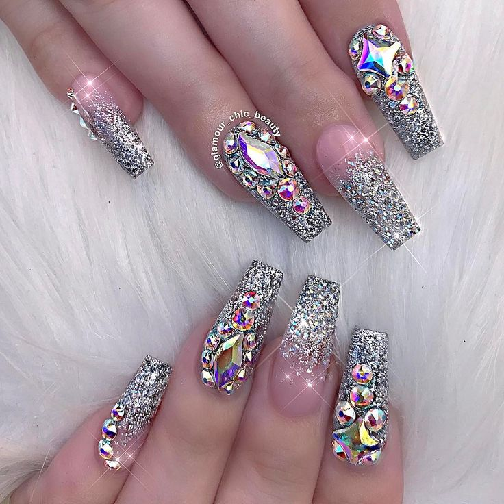 unique glamour nails ideas