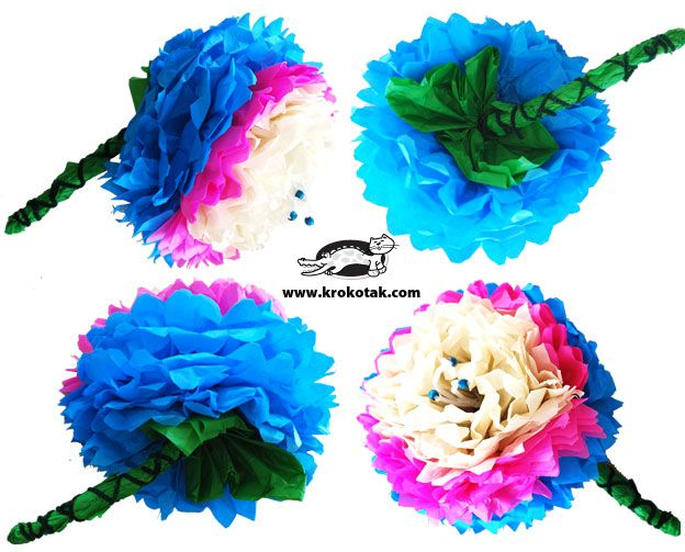 цветя от тишу хартия: Large Paper Flowers, For Kids, Tissue Paper Flowers, Beautiful Flowers, Large Flowers