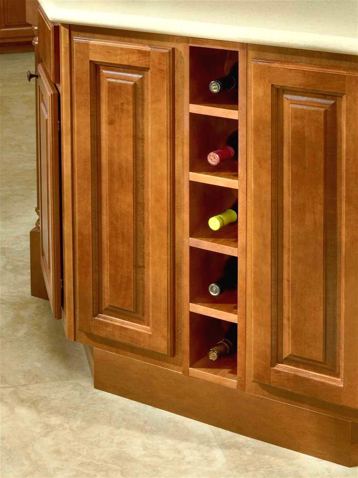 Base Wine Rack, modified by base spice rack 6""