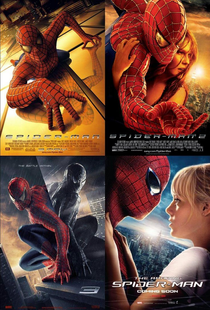 spiderman 1 2 3 and 4 movies with dad pinterest. Black Bedroom Furniture Sets. Home Design Ideas