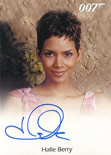 James Bond Archives 2015 Autograph Card Halle Berry as Jinx @ niftywarehouse.com #NiftyWarehouse #Bond #JamesBond #Movies #Books #Spy #SecretAgent #007