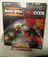 Angry Birds telepods Star Wars Jedi vs Sith toys collector items