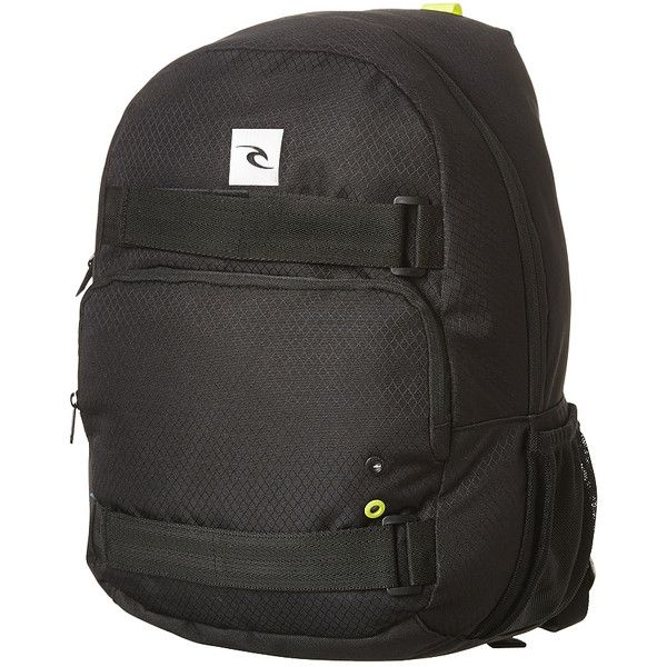 Mens Rip Curl Core Black Corp 24l Backpack Black Cotton ($23) ❤ liked on Polyvore featuring men's fashion, men's bags, men's backpacks, backpacks, bags, black, men, mens one strap backpack, mens backpack and mens laptop backpack