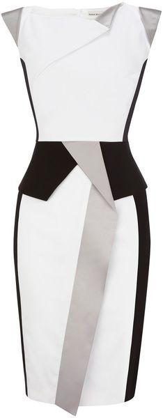 Karen Millen black, white, grey
