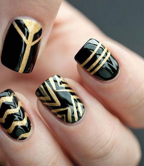 best 25 black gold nails ideas on pinterest matt nails