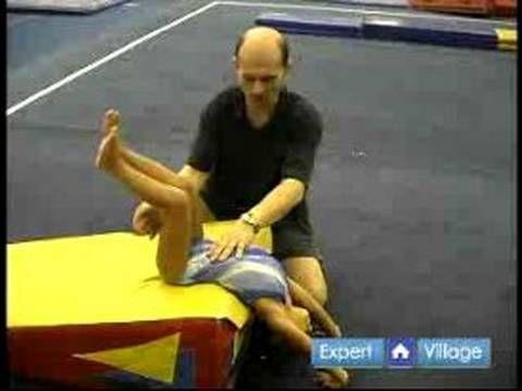 How to Teach Preschool Gymnastics : Backwards Rolls for Preschool Gymnastics