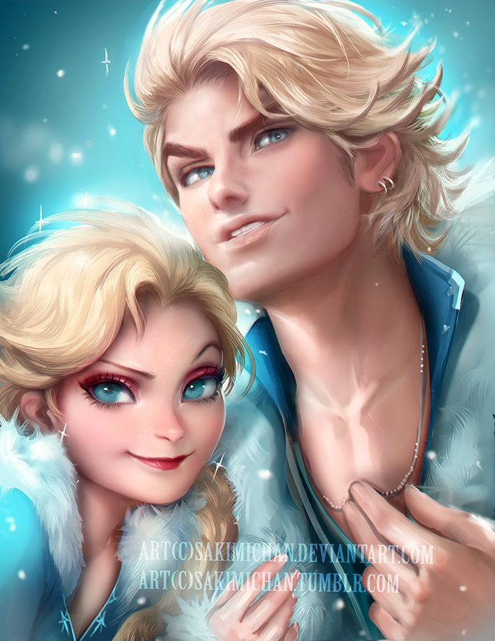 E as duas versões ~super sexies~ da Elsa! <3