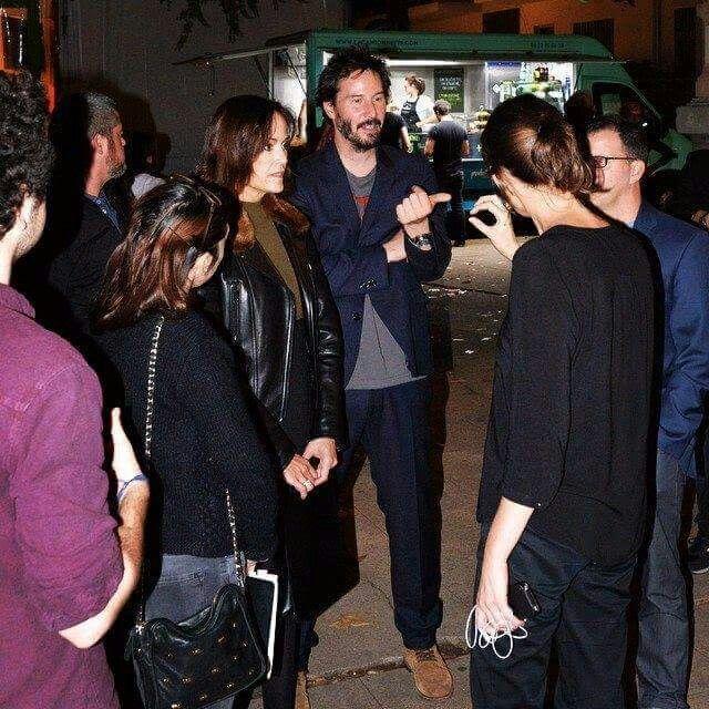 Keanu Reeves with sister Kim | Keanu reeves, Keanu reeves ...