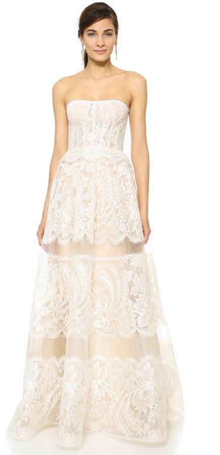 Reem Acra Coco Gown