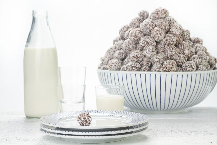 Kokosbollar med kaffesmak