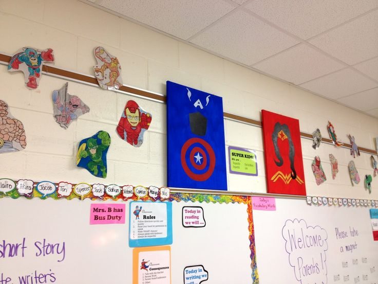 Marvel Classroom Decor ~ Images about marvel classroom decor on pinterest