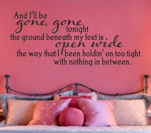 One Direction Vinyl Wall Decal Story Of My Life I'll Be Gone Gone Tonight, Price: $11.03 http://astore.amazon.com/1dstore-20/detail/B00HY0JL22
