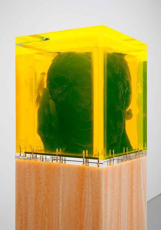 Title: Mater'ialy k biography. Artist: Folkert de Jong Exhibitor: Fons Welters