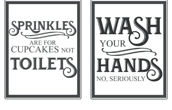 bathroom etiquette signs funny - Google Search in 2020 ...