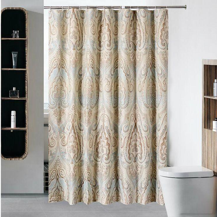 15 best Shower Curtains images on Pinterest | Bathroom ideas ...