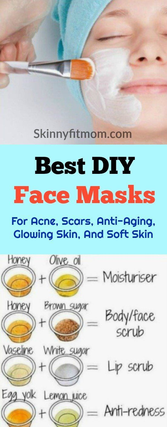 7 Best DIY Face Mask For Acne, Scars, Anti-Aging, Glowing Skin, And Soft Skin