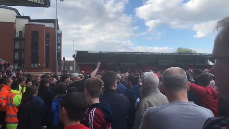 nice Leyton Orient Announcer Fails To Get Fans Off The Pitch During Match 😂 Check more at http://www.matchdayfootball.com/leyton-orient-announcer-fails-to-get-fans-off-the-pitch-during-match-%f0%9f%98%82/