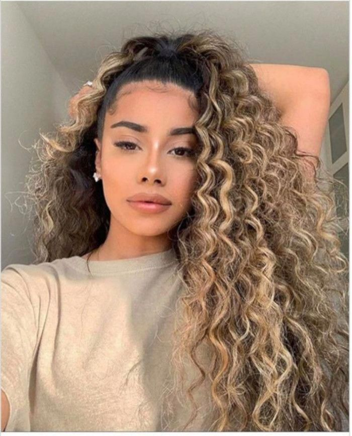 Long curly hair? Don't care! Put your locks up in a sky-high pony that frame your face sensually, as you move. Share via: 5.1K Shares 1 6K 1 More