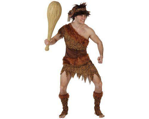 Steinzeitmenschen-Kostüm für Herren - M / L