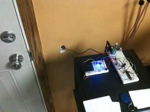 RFID Arduino door lock on instructables