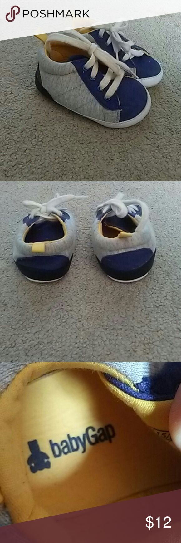 Baby boys Gap shoes Very gentlynused baby boys Gap soft shoes Size 12-18 months GAP Shoes Baby & Walker