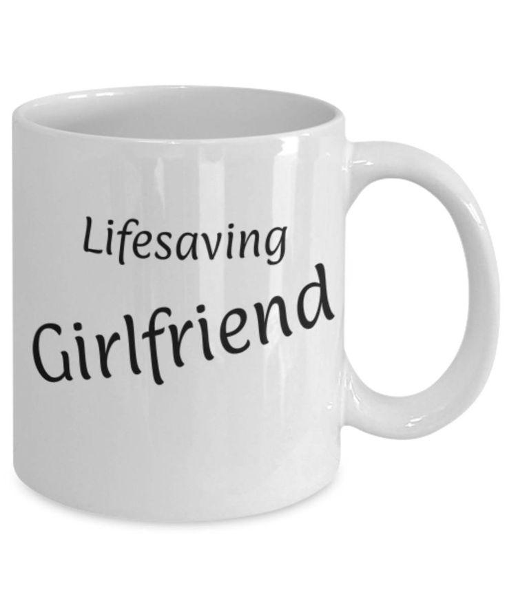 Sweetheart, Partner, Lifesaving Girlfriend, Funny coffee mug, Christmas gift for Girlfriend, Girlfriend appreciation mug, Gift for her, Love by expodesigns on Etsy