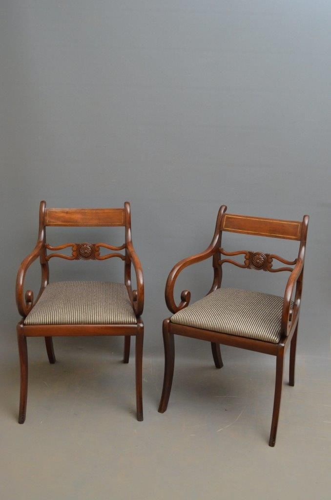 Pair of Regency Carver Chairs 30 best