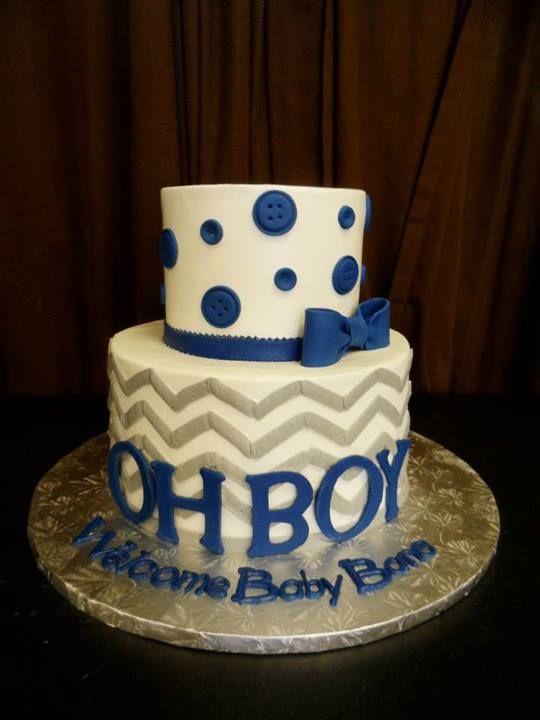 Oh Boy Baby Shower Cake | Gala Bakery - San Lorenzo, CA | www.galabakery.com