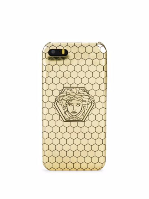 Etsy の Versace iPhone 5 Honeycomb Protective Case by GROUPELUXE