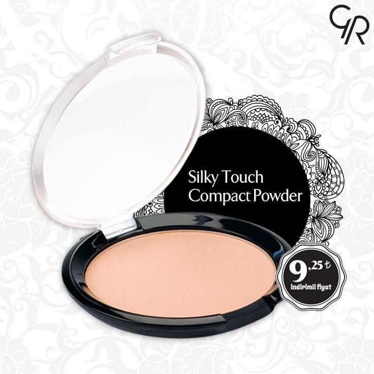 Cildinde gün boyu kusursuz bir görünüm sağlayan Silky Touch Compact Powder Mayıs indiriminde! http://www.goldenrosestore.com.tr/silky-touch-compact%20-powder.html