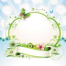 Resultado de imagem para floral frames