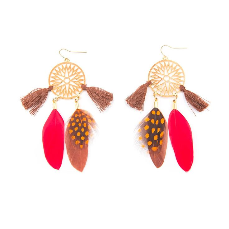 Reve Gold - Boucles d'oreilles - multicolore - Hipanema - Nouvelle Collection et ventes privées - Ref: 1611577 | Brandalley