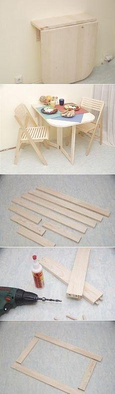 Практичный складной столик для маленькой дачи - Садоводка