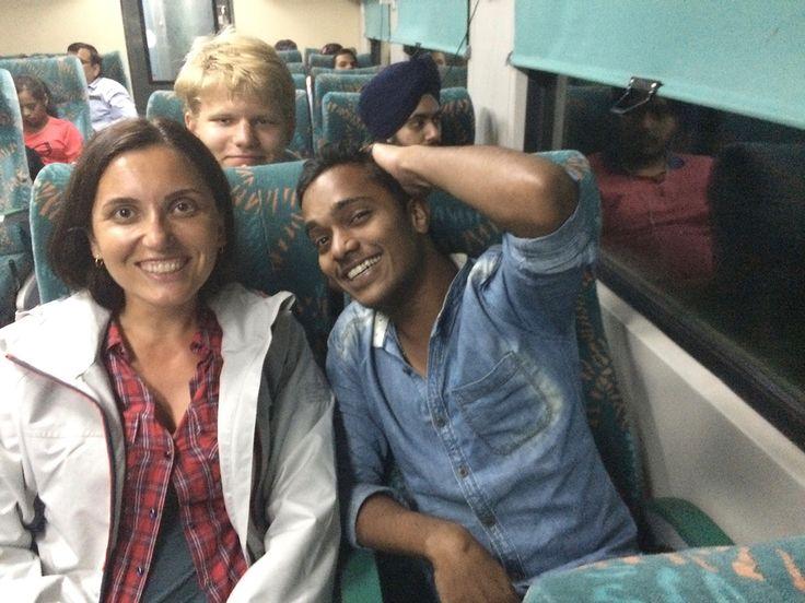 New Delhi – Amritsar trip by Shatabdi Express train
