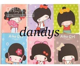 Wholesale New kawaii japanese girl notebook / Notepad / Memo / pocket book / fashion Gift / Wh, Free shipping, $0.74-0.95/Piece | DHgate