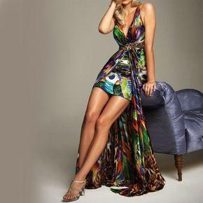 Vestido Glamour Multicolor @ Vestidos de Fiesta Baratos Blog